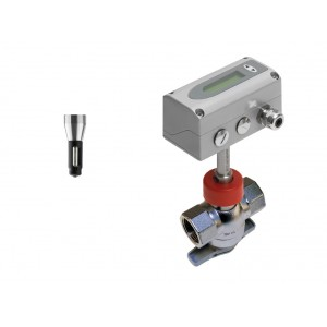 Flowmeter for compressed air and gases