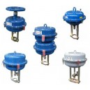 P/R pneumatic actuators